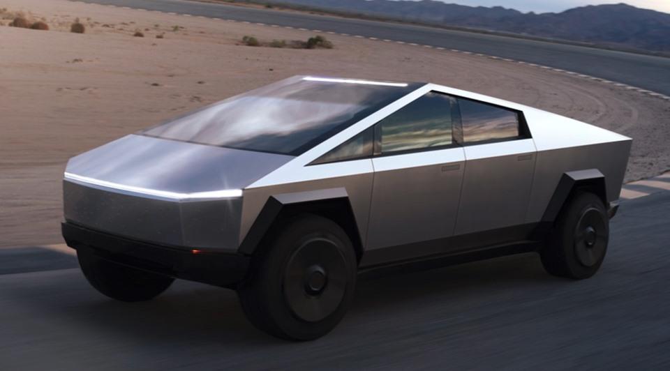 Tesla reveals the Cybertruck.