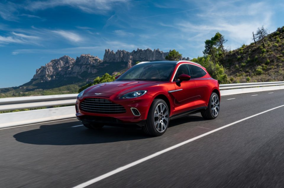 Aston Martin join the SUV crowd