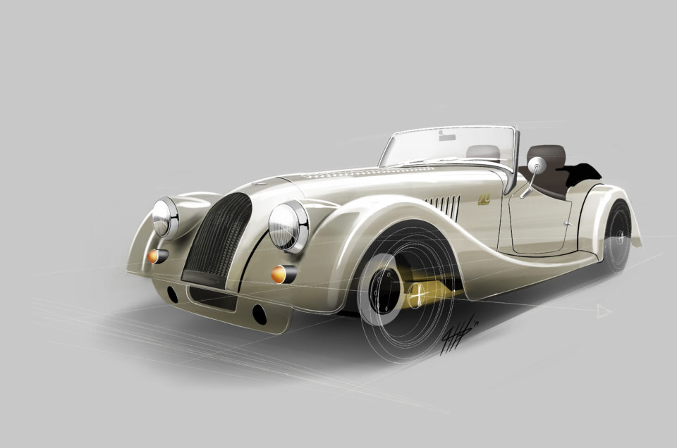 Morgan celebrates 70th anniversary with special edition.