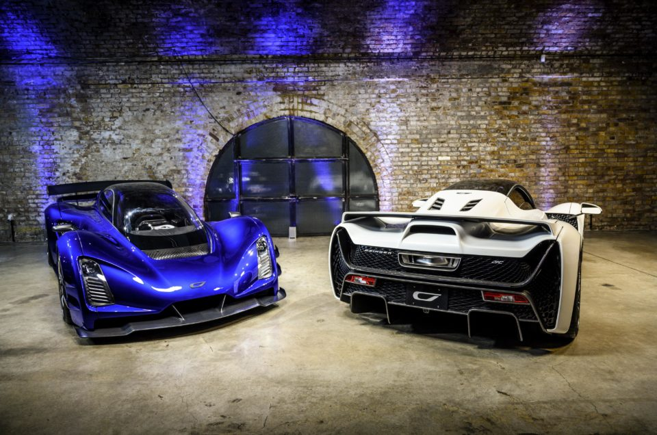 Czinger 21c Hypercar launched in Britain
