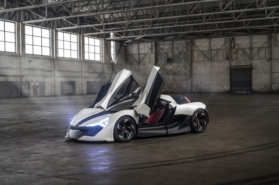 All-electric, British-built Apex AP-0 supercar revealed