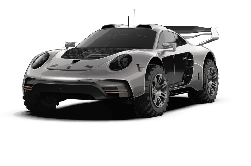 Gemballa reveals sketches of off road spec Avalanche 911