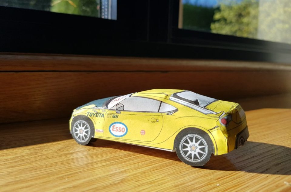 Help relieve the lockdown boredom with build at home Toyota GT86 models