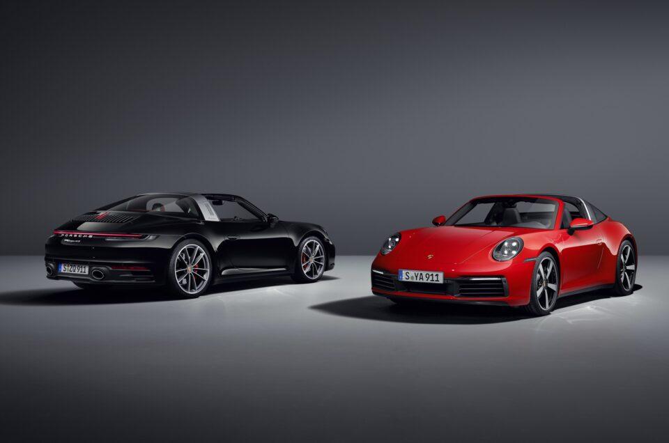 Porsche reveals new 911 Targa models