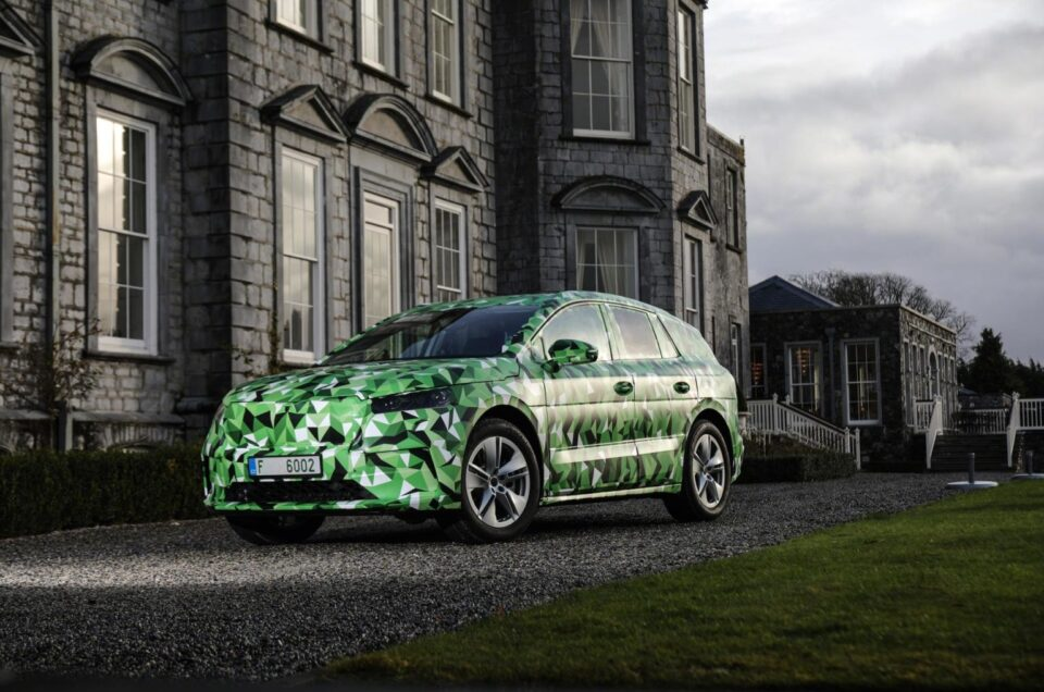 Skoda teases with new Enyaq EV images