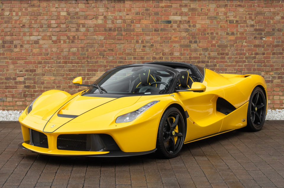 Limited edition LaFerrari Aperta tops list of most expensive cars ever financed