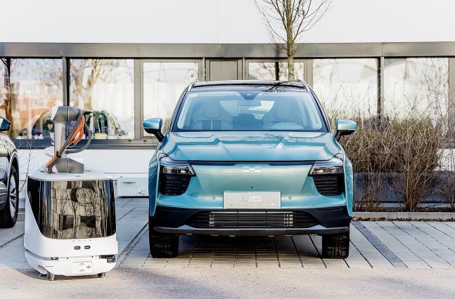 Autonomous ev Charging