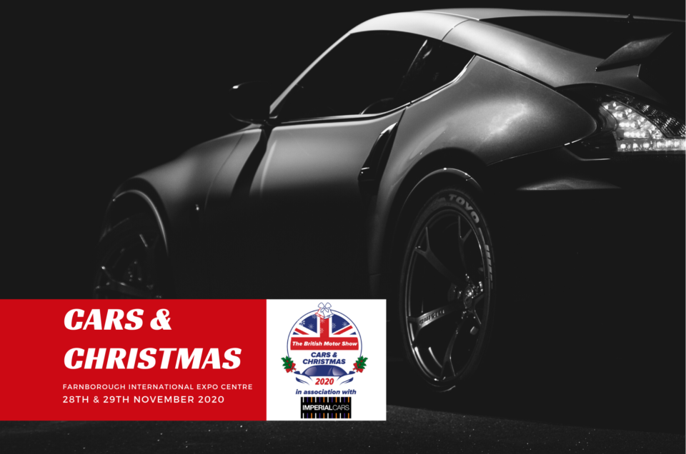 The British Motor Show announces Cars & Christmas show to plug 2020 events gap for car lovers & families