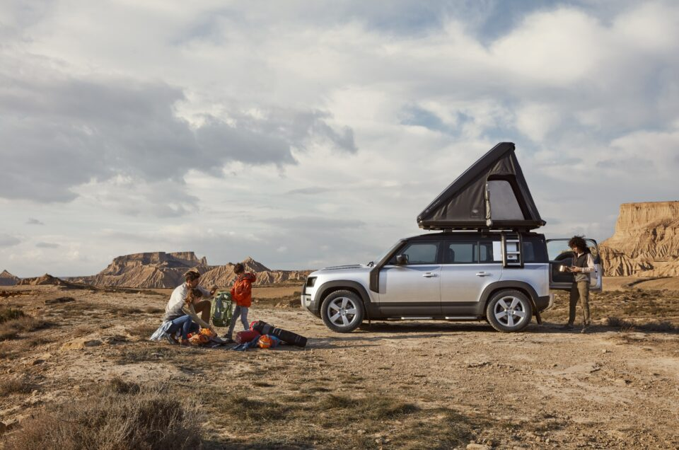 Land Rover reveals new bespoke roof tent for Defender