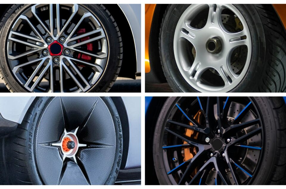 Quiz – can you name what cars these alloy wheels belong to?