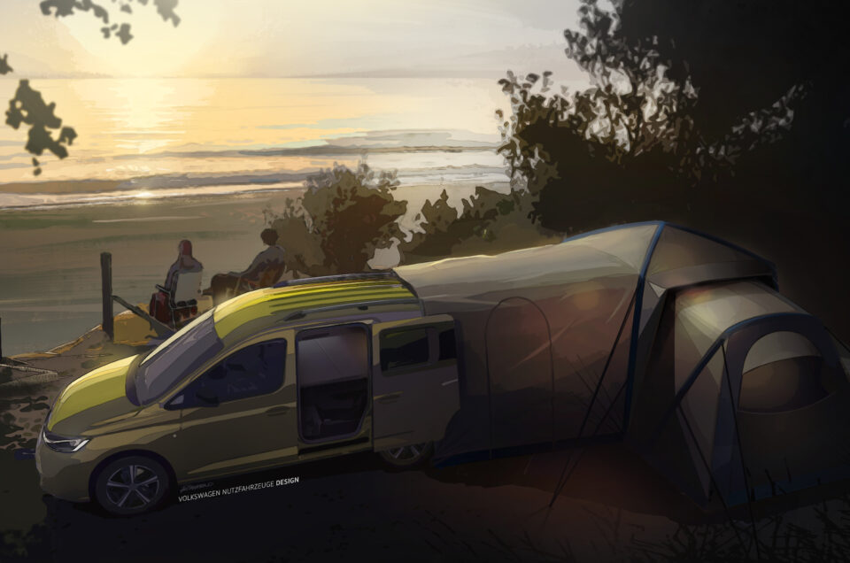 Volkswagen reveal images of new Camper
