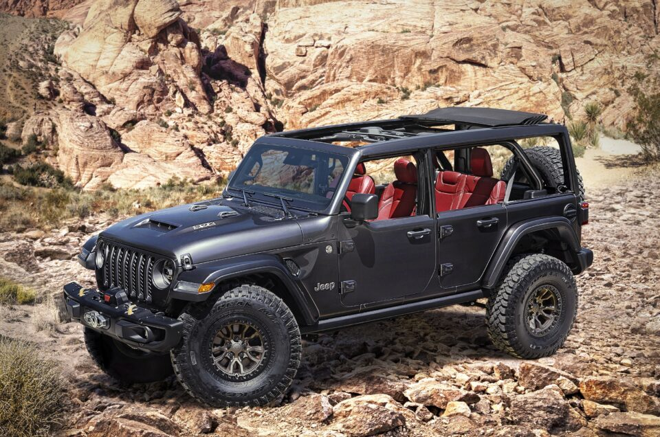 Jeep unveils Wrangler Rubicon 392 concept with 6.4-litre V8 engine