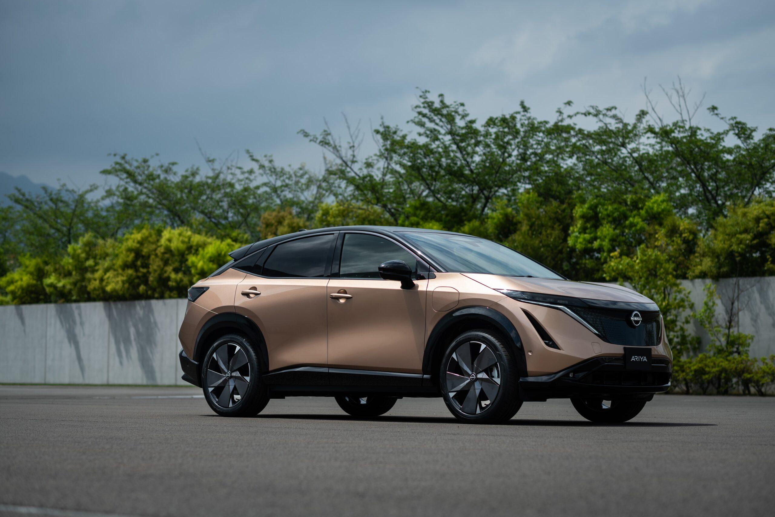 Nissan reveals dramatic new Ariya