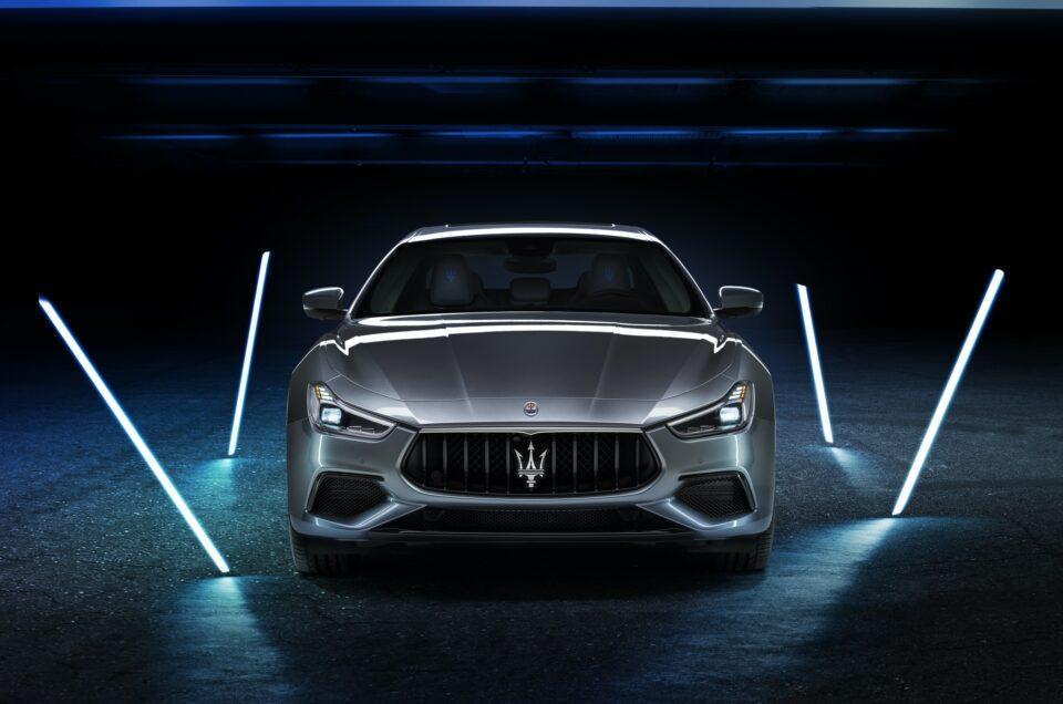Maserati unveils new Ghibli Hybrid