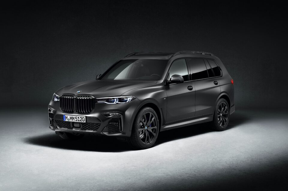 BMW announces exclusive X7 Dark Shadow Edition