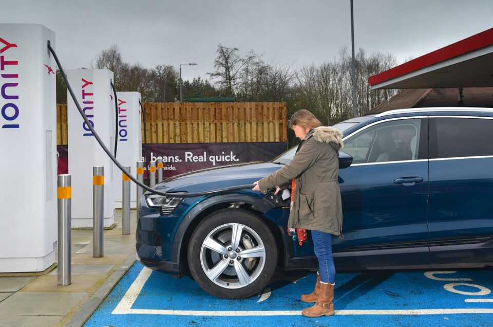 The Number of UK charge points has increased five fold since 2015