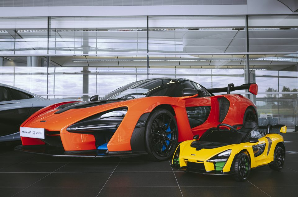 Mclaren reveals Electric Senna…