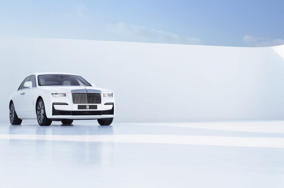 New Rolls-Royce Ghost breaks cover