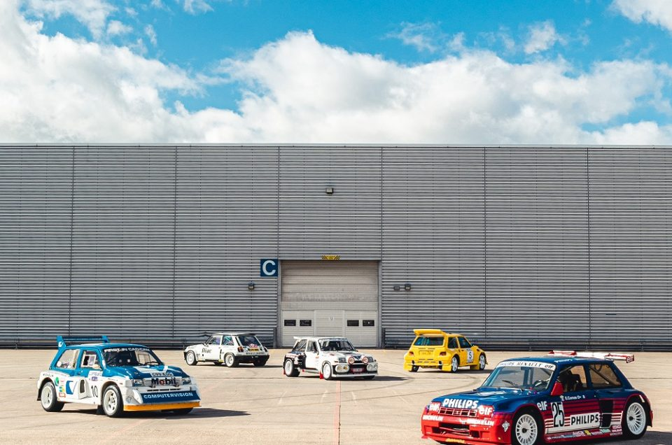 Private collection of 80's rally cars to go on sale