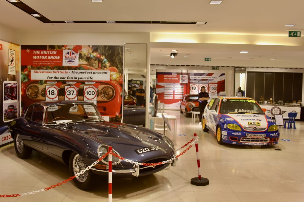Pop-Up Motor Show in Festival Place