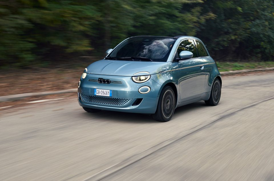 One of our favourite cars, the Fiat 500 is now available as a fully electric model