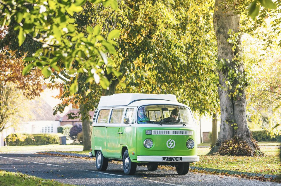 Can you imagine a better vehicle to convert than a classic camper van?