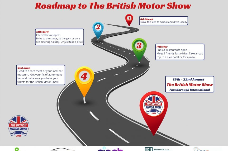 The Show Will Go On – The British Motor Show welcomes lockdown release plan and confirms all systems go for August 19-22, 2021