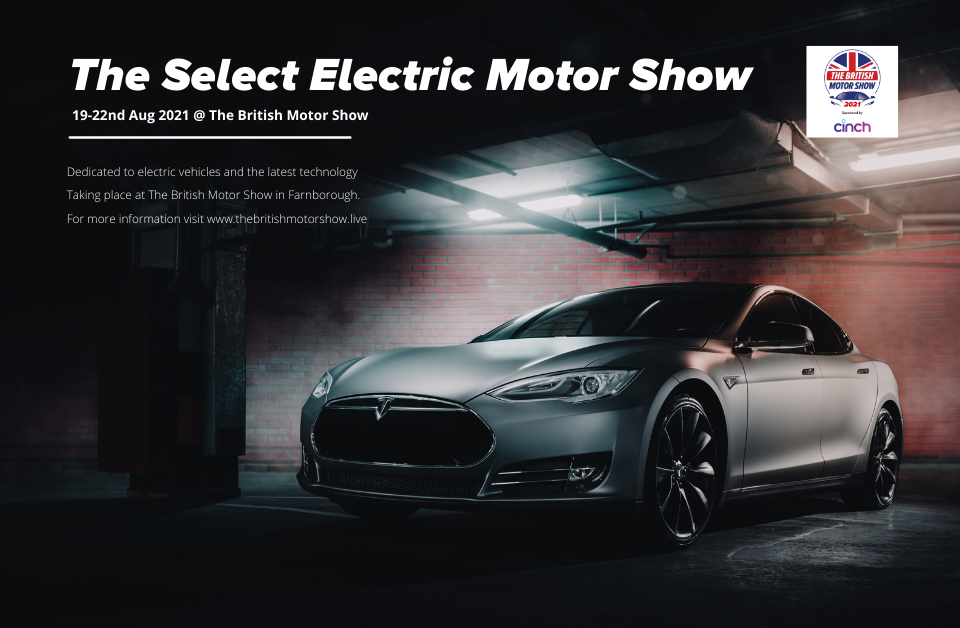 Select Electric Motor Show announced as major part of this year's British Motor Show.