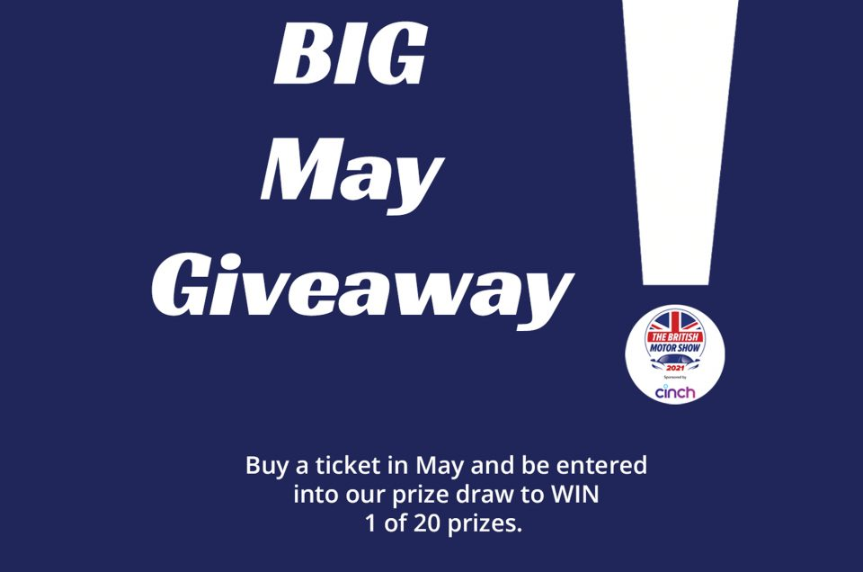 BIG May Giveaway Terms and Conditions