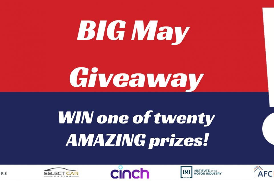 Huge prizes up for grabs with The British Motor Show Big May giveaway