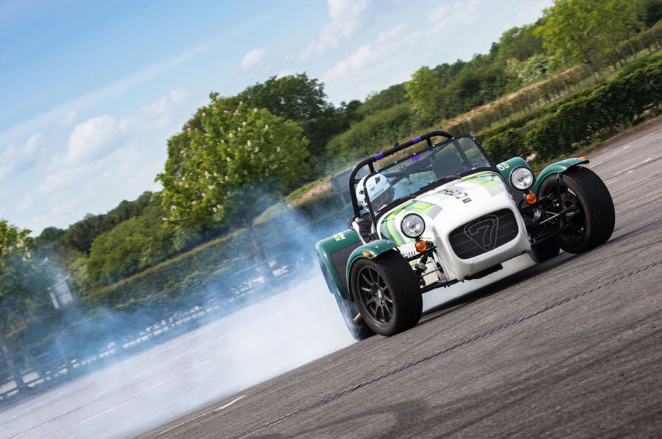Caterham to go large (and also sideways) at The British Motor show
