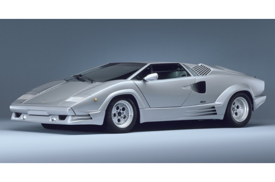 Pin-up Countach named Britain's most popular poster car!