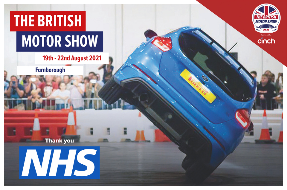Thank you NHS! Free tickets for NHS and care workers