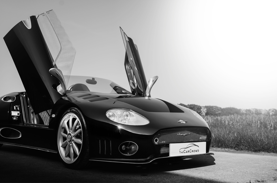 Spyker C8 Spyder Launch with The Car Crowd